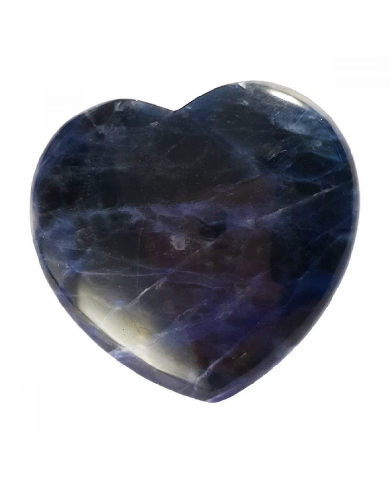 Sodalite Polished Heart