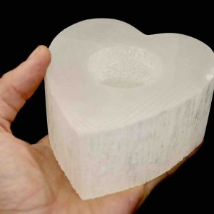 Quartz Heart Candle Holder 3