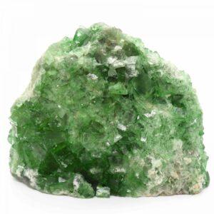 Green Fluorite Cubic Cluster