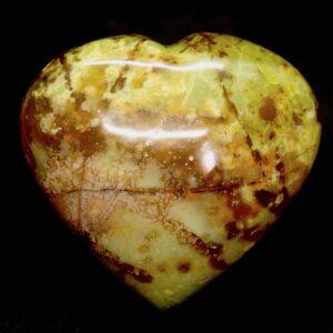 Opal Green Heart 157g 1