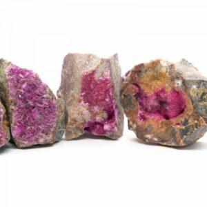 Colbaltean Calcite / Salrose Clusters