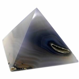 Agate, Banded Pyramid 6cm