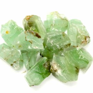 Emerald Green Calcite Rough Pieces