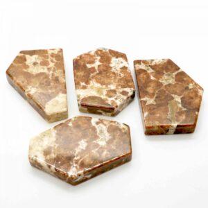 Garnet Polished Slices 50-60g 1
