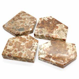 Garnet Polished Slices 70-80g 1
