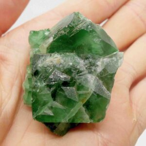 Fluorite, Green Cubic Cluster 5cm