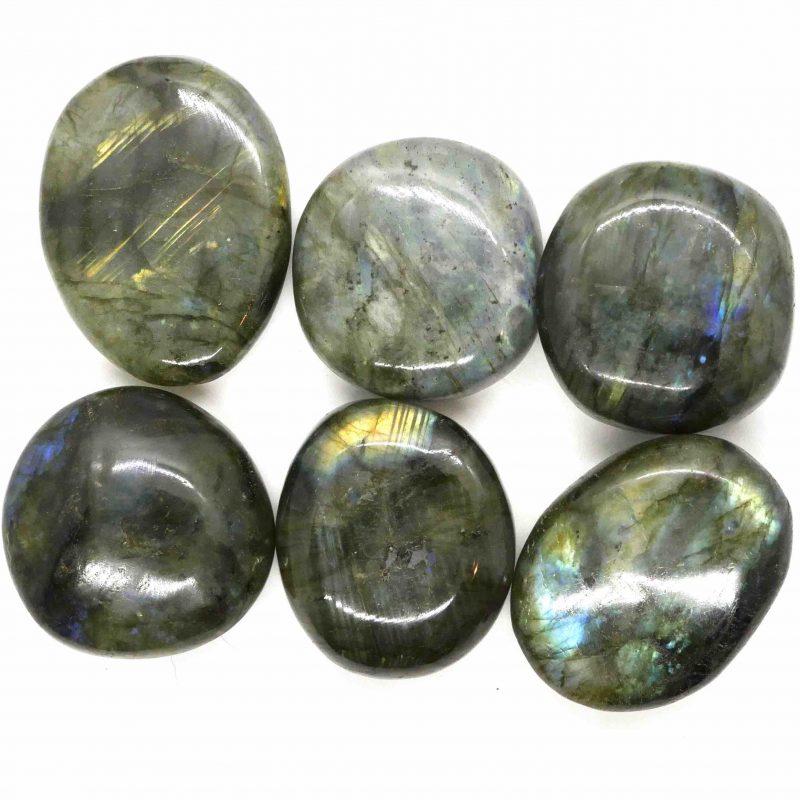 Labradorite polished gallets small
