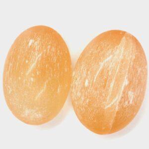 Orange Selenite Soap Stone 1
