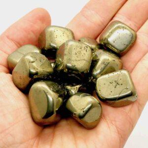 Pyrite Cubes Tumbles Large 3