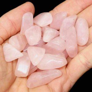 rose quartz tumbled
