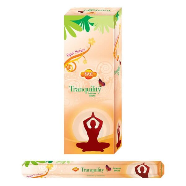 tranquility incense sticks spa series