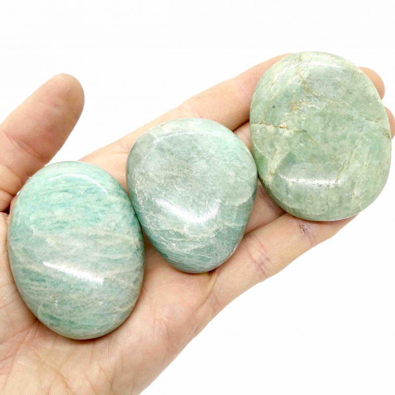 Amazonite Gallets A Grade 80-100g 3