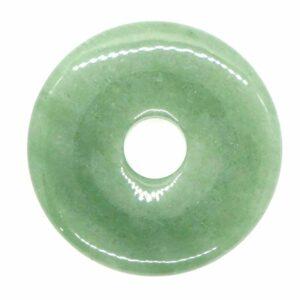 Aventurine, Green Torus Pendant 5cm 1