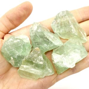 Fluorite, Green Rough Pieces 40-60g 3