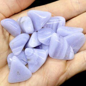 Agate, Blue Lace Tumbled SML 3