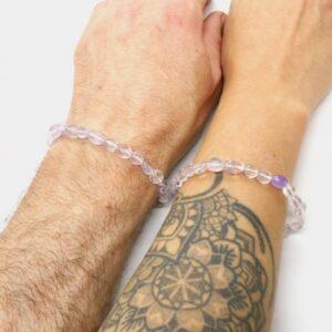 Amethyst Crystal Healing Bracelet 3