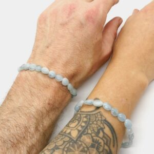 Aquamarine Crystal Healing Bracelet 3