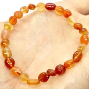Carnelian Crystal Healing Bracelet 2