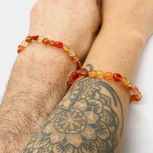 Carnelian Crystal Healing Bracelet 3