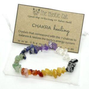 Chakra Crystal Healing Bracelet 1