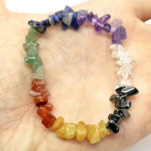 Chakra Crystal Healing Bracelet 2
