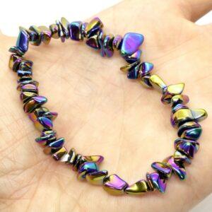 Haematite Rainbow Crystal Healing Bracelet 2