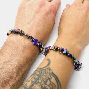 Haematite Rainbow Crystal Healing Bracelet 3