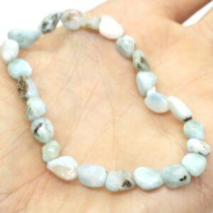 Larimar Crystal Healing Bracelet 2