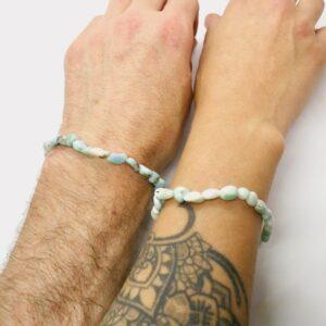 Larimar Crystal Healing Bracelet 3