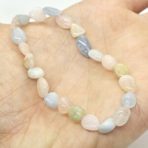 Morganite Crystal Healing Bracelet 2