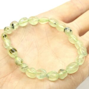 Prehnite Crystal Healing Bracelet A grade 2