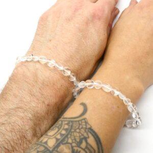 Quartz, Clear Crystal Healing Bracelet 3