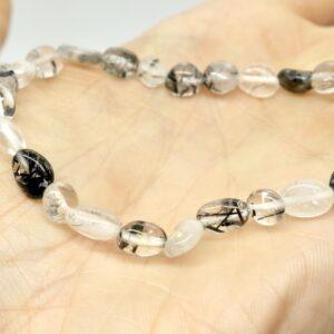 Quartz, Tourmalinated Crystal Healing Bracelet 2