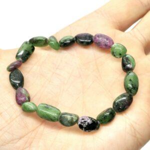 Ruby Zoisite Crystal Healing Bracelet 2