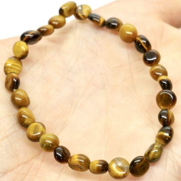 Tigers Eye Gold Crystal Healing Bracelet 2