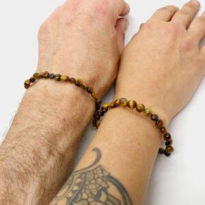 Tigers Eye Gold Crystal Healing Bracelet 3
