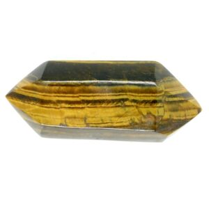 Tiger's Eye, Gold Double Terminated 10cm 148g 1