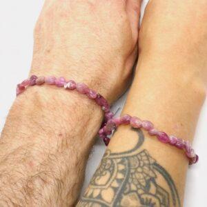 Tourmaline Pink Crystal Healing Bracelet 3