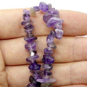 Amethyst Crystal Healing Bracelet 2