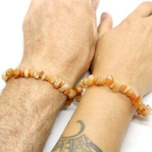 Aventurine, Peach Crystal Healing Bracelet 3