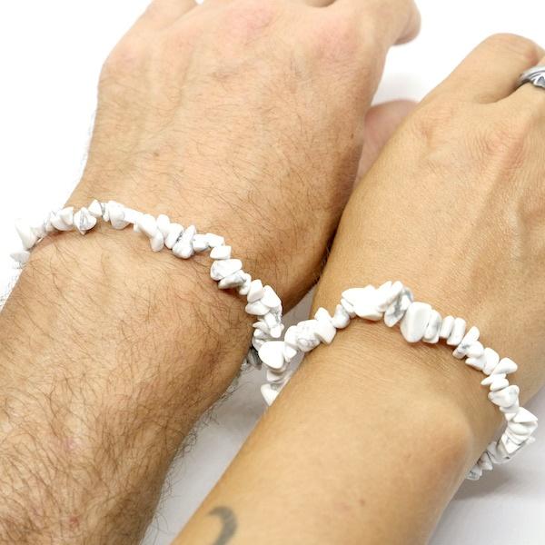 Howlite Crystal Healing Bracelet 3