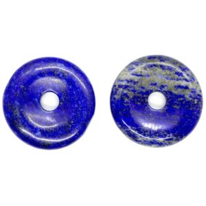 Lapis Lazuli Pi Torus Pendant 3cm 1