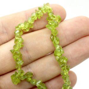 Peridot Crystal Healing Bracelet 2