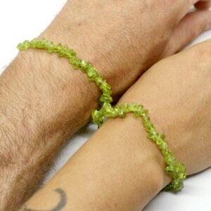Peridot Crystal Healing Bracelet 3