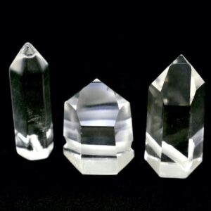Quartz, Clear Crystal Polished Point Pendant 1