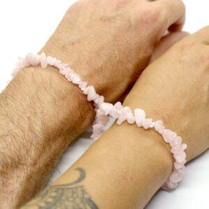 Rose Quartz Crystal Healing Bracelet 3