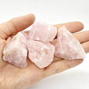 Rose Quartz Rough Pieces 40-60g 3