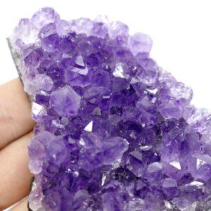 Amethyst Drusy Clusters 175g 9cm 2