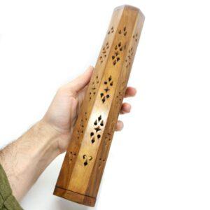 Wooden Box Incense Holder Star 3 IHC3