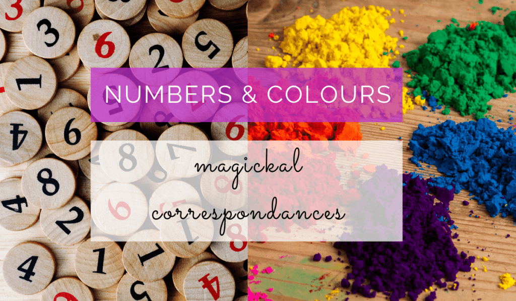 Numbers and Colours Correspondances